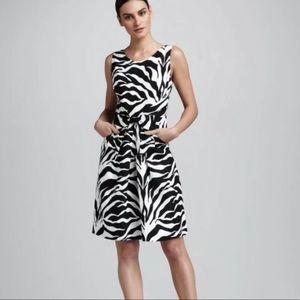 Kate Spade Jillian Linen Zebra Dress 2